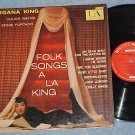 MORGANA KING--FOLK SONGS A LA KING--1959 LP--UAL-3028