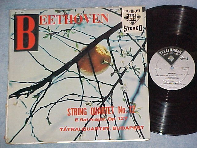 Beethoven:String Quartet No 12--TATRAL QRTT--Telefunken