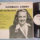 "GEORGIA GIBBS--10"" 1955 LP--Royale 18126--VG++/VG+"