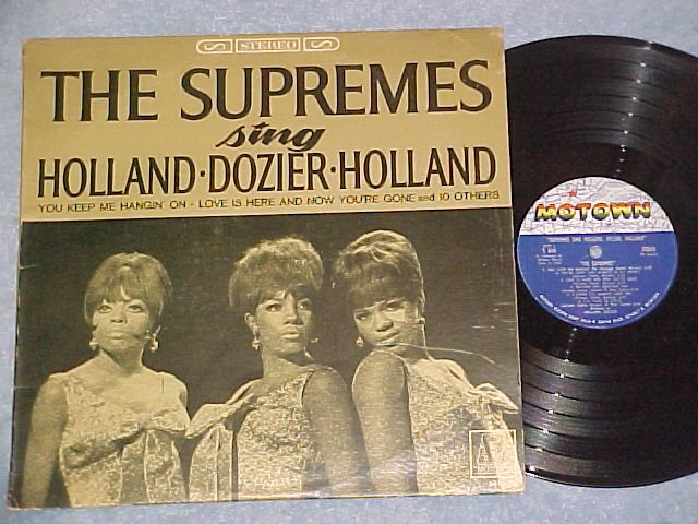 THE SUPREMES SING HOLLAND/DOZIER/HOLLAND--Stereo LP--#2