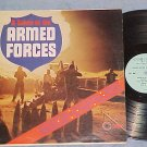A SALUTE TO THE ARMED FORCES-VG+ LP-Coronet 289-Marches