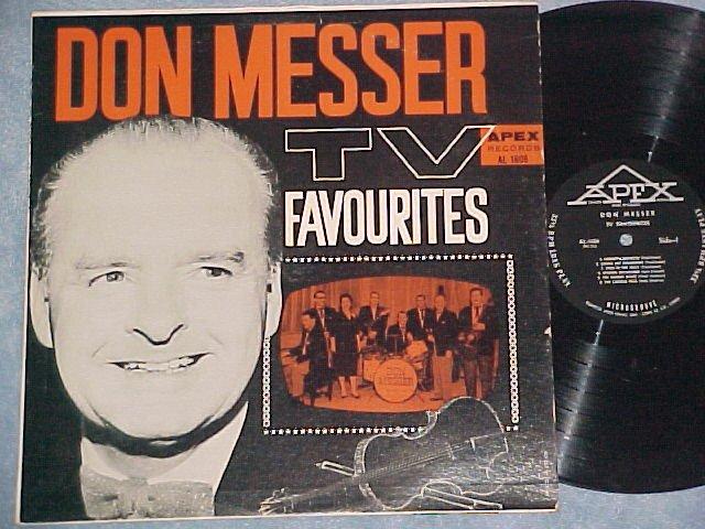 DON MESSER--TV FAVOURITES--NM Canada LP--Apex AL-1606