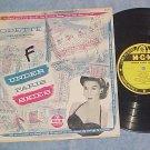 "ODETTE--UNDER PARIS SKIES--10"" VG+ 1954 LP--MGM E-239"