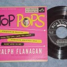EP w/PS-RALPH FLANAGAN--TOP POPS-1954--RCA 541--NM/VG++