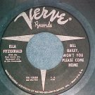 45-ELLA FITZGERALD-BILL BAILEY,WON'T YOU PLEASE..-Verve
