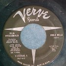 45-ELLA FITZGERALD-JINGLE BELLS--1960--Verve 10224--VG+