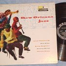 NEW ORLEANS JAZZ--5 ensembles--Decca DL-8283--NM/VG+ LP