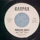 45--BOBBY BORIS PICKETT--MONSTER MASH--Garpax--VG++