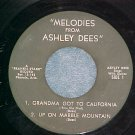 EP--MELODIES FROM ASHLEY DEES--s/t--Frankie Starr label