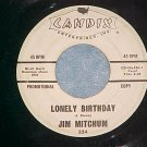 WL Promo 45-JIM MITCHUM-LONELY BIRTHDAY-1961-Candix 324