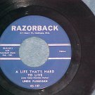 45-LINDA FLANAGAN--A LIFE THAT'S HARD TO LIVE-Razorback