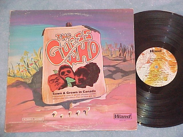 THE GUESS WHO--BORN (SOWN AND GROWN) IN CANADA--1969 LP