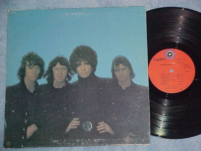 RASPBERRIES--Self Titled VG+ 1972 LP--Capitol red label