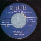 45--JIMMY BARNES--NO REGRETS--1959--Gibralter 101