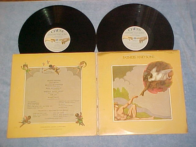 MUDDY WATERS AND OTHERS--FATHERS AND SONS--1969 Dbl LP