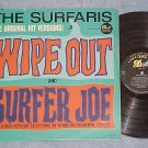 THE SURFARIS--WIPE OUT--VG+ Mono 1963 LP--Dot DLP-3535