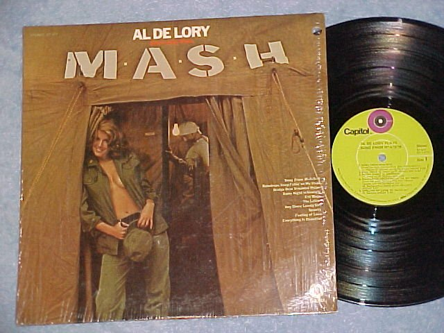 AL DE LORY PLAYS SONG FROM MASH (M*A*S*H)-LP~Cheesecake