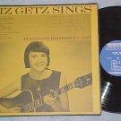 LIZ GETZ SINGS--s/t VG+ 1965 Folkways LP w/Autograph