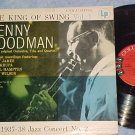 BENNY GOODMAN--THE KING OF SWING--Vol 1--NM/VG+ 1956 LP