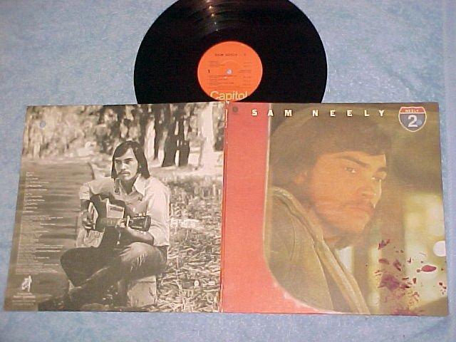 SAM NEELY--SAM NEELY 2--NM/VG+ 1973 LP--Capitol 11143