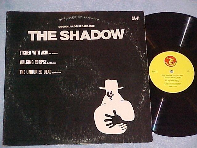 THE SHADOW-(3)original radio broadcasts-Olympic Records