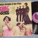 GLADYS KNIGHT AND THE PIPS--SILK N' SOUL--1968 LP--Soul