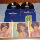 THE SUPREMES-GREATEST HITS-VG++ 1967 Dbl LP w/NM Poster