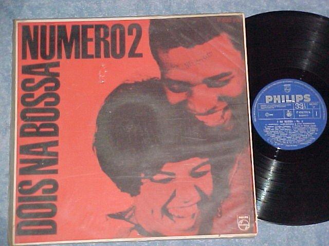 DOIS NA BOSSA--NUMERO 2--1966 Brazil LP--Elis Regina