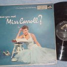 BARBARA CARROLL--HAVE YOU MET MISS CARROLL?-1956 RCA LP