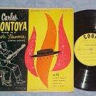 """CARLOS MONTOYA-FIESTA FLAMENCA-10"""" Mid 50s LP-Cook 1027"""