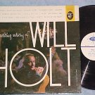 THE EXCITING ARTISTRY OF WILL HOLT-VG++ 1960 Elektra LP