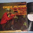 CHUCK JACKSON--DEDICATED TO THE KING (Elvis Presley)-LP