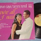 MARVIN GAYE/TAMMI TERRELL-YOU'RE ALL I NEED-VG++ '68 LP