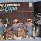 THE SUPREMES AT THE COPA-Stereo 1965 UK LP-Tamla Motown