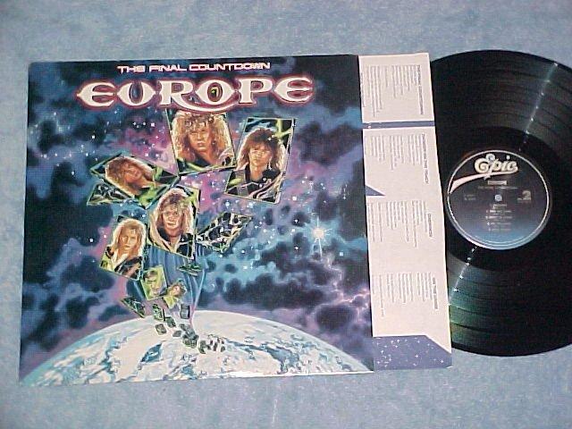 EUROPE--THE FINAL COUNTDOWN--NM 1988 LP--Epic E-40241