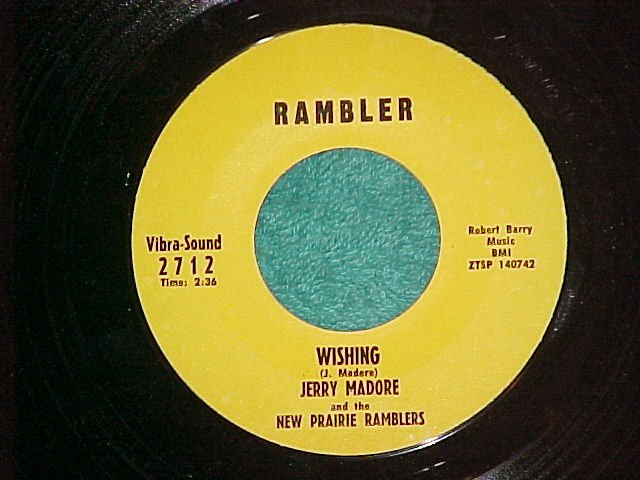 JERRY+NEW PRARIE RAMBLERS-Rambler-Hobart/Schenectady,NY
