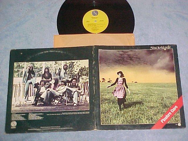 STACKRIDGE--PINAFORE DAYS--NM/VG+ 1974 LP on Sire