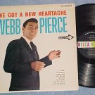 WEBB PIERCE--I'VE GOT A NEW HEARTACHE--Stereo 1963 LP