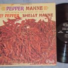 ART PEPPER AND SHELLY MANNE-PEPPER MANNE-Stereo 1963 LP