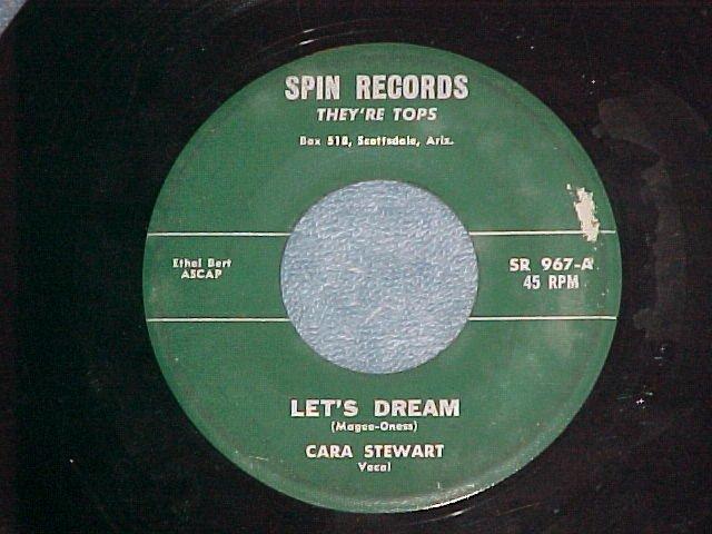 45--CARA STEWART--LET'S DREAM--1960--Spin 967