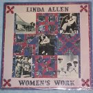 LINDA ALLEN-WOMEN'S WORK-Mint SEALED '88 Flying Fish LP