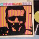 CISCO HOUSTON-PASSING THROUGH-VG+ '65 LP-Verve Folkways