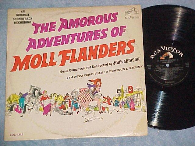 THE AMOROUS ADVENTURES OF MOLL FLANDERS--1965 Sdk LP