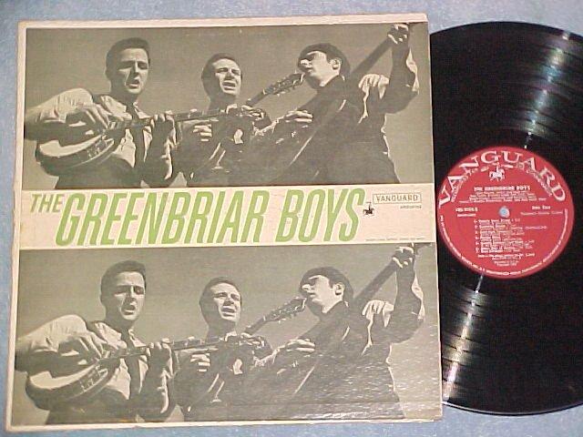 THE GREENBRIAR BOYS--Self Titled LP--Vanguard VRS-9104