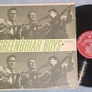 THE GREENBRIAR BOYS--Self Titled LP--Vanguard VRS-9104