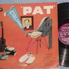 "PAT BOONE--""PAT""--1957 UK LP--London HA-D-2049"