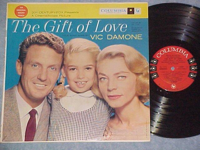 THE GIFT OF LOVE-1958 Sdk LP-Lauren Bacall,Robert Stack
