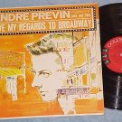 ANDRE PREVIN & TRIO-GIVE MY REGARDS TO BROADWAY-1960 LP