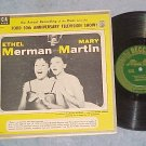 "Ethel Merman/Mary Martin-FORD 50th ANNIV. TV SHOW-10""LP"
