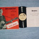 PETE SEEGER-BROADSIDE BALLADS-Vol 2--NM/VG+ LP w/Insert